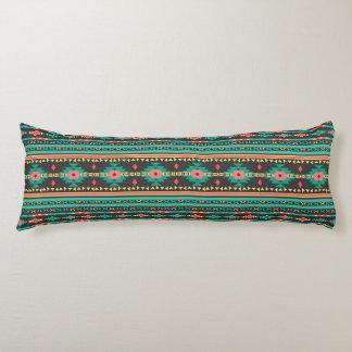 Cool tribal ethnic Navajo geometric pattern Body Pillow