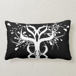 Cool Tribal Tree Art Symbol Unique Branches Design Lumbar Pillow