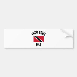 cool Trini girls DESIGNS Bumper Sticker