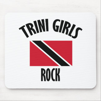 cool Trini girls DESIGNS Mouse Pad