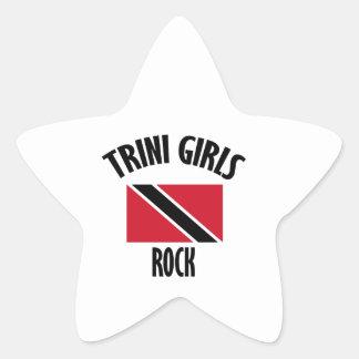 cool Trini girls DESIGNS Star Sticker