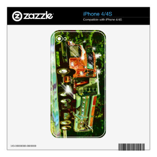 Cool TRUCK-LOVERS Transport Theme Skin Skin For iPhone 4S