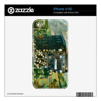 Cool TRUCK-LOVERS Transport Theme Skin Skins For iPhone 4S