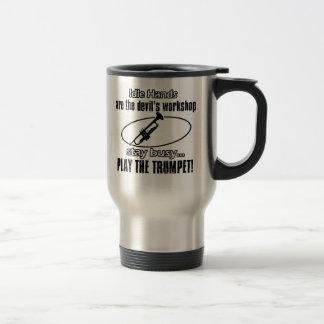 Cool Trumpet designs Travel Mug