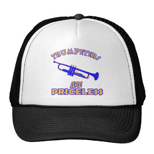 Cool trumpeters designs trucker hat zazzle