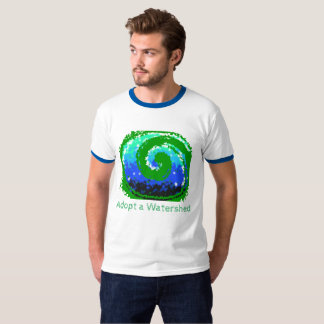 Cool TShirt with Green Image