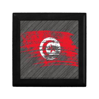 Cool Tunisian flag design Gift Boxes