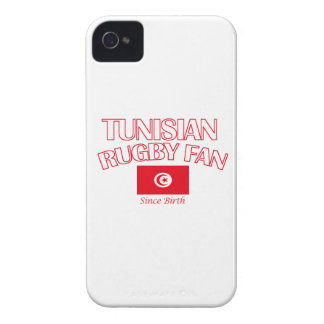 cool Tunisian rugby fan DESIGNS Case-Mate iPhone 4 Cases