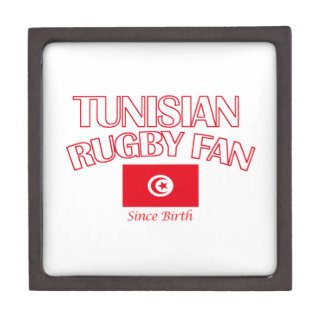 cool Tunisian rugby fan DESIGNS Gift Box