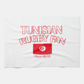 cool Tunisian rugby fan DESIGNS Kitchen Towel