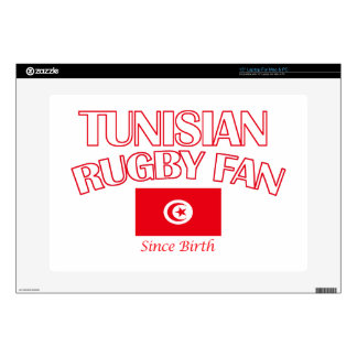 cool Tunisian rugby fan DESIGNS Laptop Decals