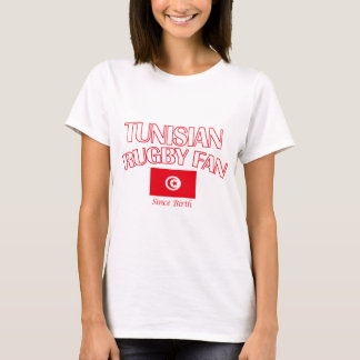 cool Tunisian rugby fan DESIGNS T-Shirt