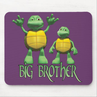 Cool Turtles Big Brother Mouse Pad