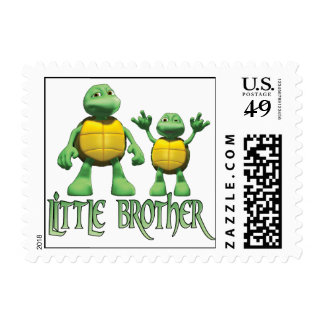 Cool Turtles Little Brother Stamps