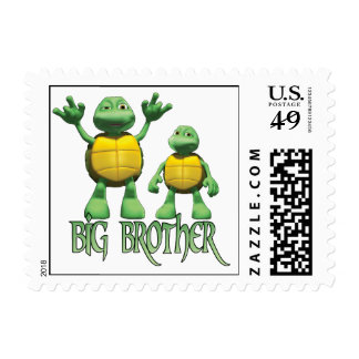Cool Turtles Postage Stamps