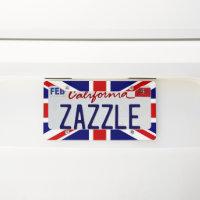 England Plates Zazzle