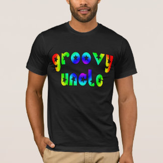 Cool Uncles Birthdays & Christmas : Groovy Uncle T-Shirt