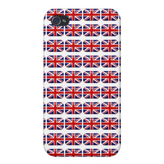 Cool Union Jack Flag Pattern Flag iPhone Case