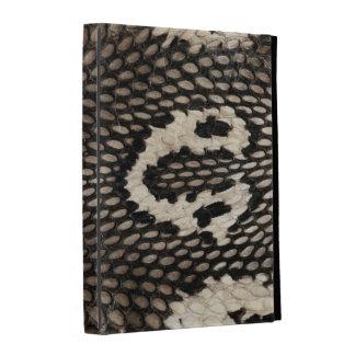 Cool Unique Cobra Snake Skin Print Design iPad Folio Cases