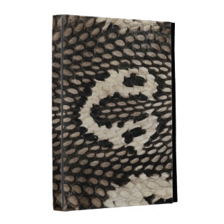 Cool Unique Cobra Snake Skin Print Design iPad Folio Cover