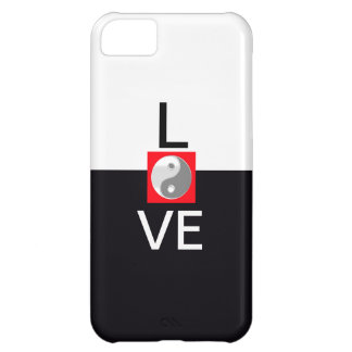 Cool Unique Love Wedding Yin Yang Black and White iPhone 5C Cover