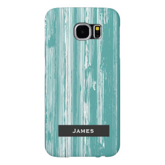 Cool Unique Mint Timber Art Work Samsung Galaxy S6 Case