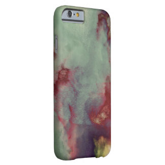 Cool unique modern clouds art design barely there iPhone 6 case