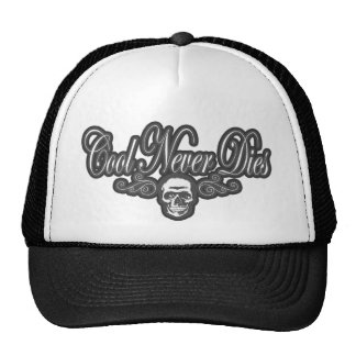 cool unique retro design custom funny graphic art trucker hat