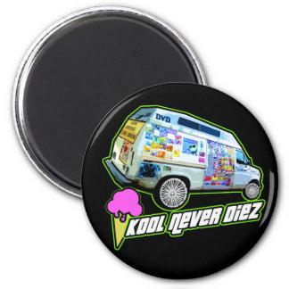 cool unique retro design custom funny graphic art fridge magnet