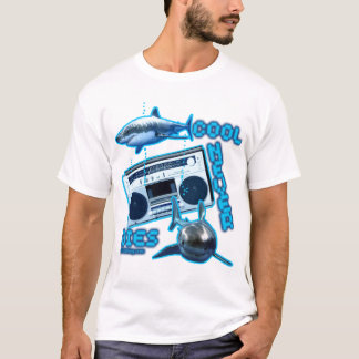 cool unique retro design custom funny graphic art T-Shirt