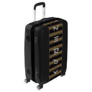 Cool urban fantastic masculine nerd design luggage