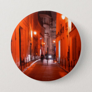 Cool, urban, modern photo of Parisian lifestyle Button
