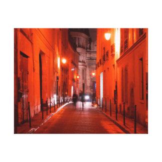 Cool, urban, modern photo of Parisian lifestyle Canvas Print