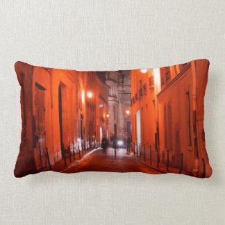 Cool, urban, modern photo of Parisian lifestyle Lumbar Pillow