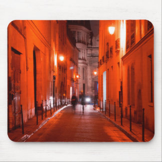Cool, urban, modern photo of Parisian lifestyle Mouse Pad