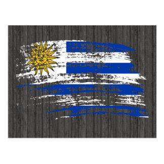 Cool Uruguayan flag design Postcard