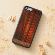 Cool Varnished Wood Iphone 6 Bumper Case at Zazzle
