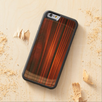 Cool Varnished Wood iPhone 6 Bumper Case Carved® Cherry iPhone 6 Bumper Case
