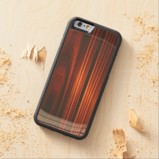 Cool Varnished Wood iPhone 6 Bumper Case Carved® Maple iPhone 6 Bumper Case