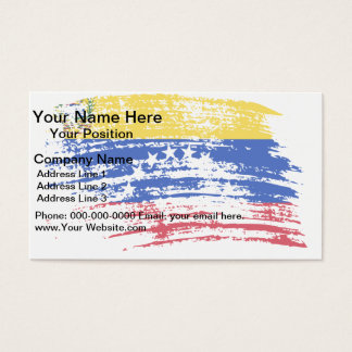 Cool Venezuelan flag design Business Card