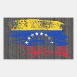 Cool Venezuelan flag design Rectangle Stickers