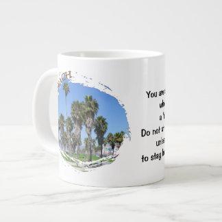 Cool Venice Beach Jumbo Mug! 20 Oz Large Ceramic Coffee Mug