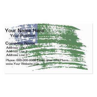 Cool Vermonter flag design Business Card