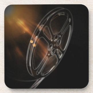 Cool Video Film Production Movie Reel Beverage Coaster