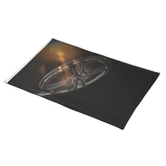 Cool Video Film Production Movie Reel Cloth Placemat