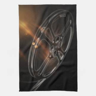 Cool Video Film Production Movie Reel Kitchen Towel