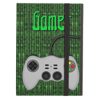 Cool Video Game Controller Vector in Grey iPad Air Covers