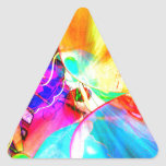 cool view triangle sticker