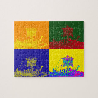 COOL VIKINGS: POP JIGSAW PUZZLE