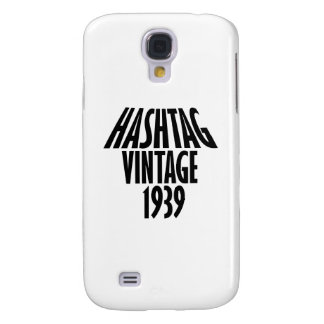 cool Vintage 1939 design Samsung Galaxy S4 Cover